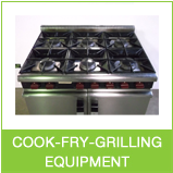 used kitchen equipment and cookers