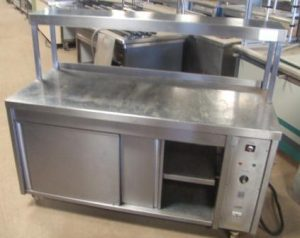 CHEFS PASS With Hot Cupboard & Single Heated Gantry