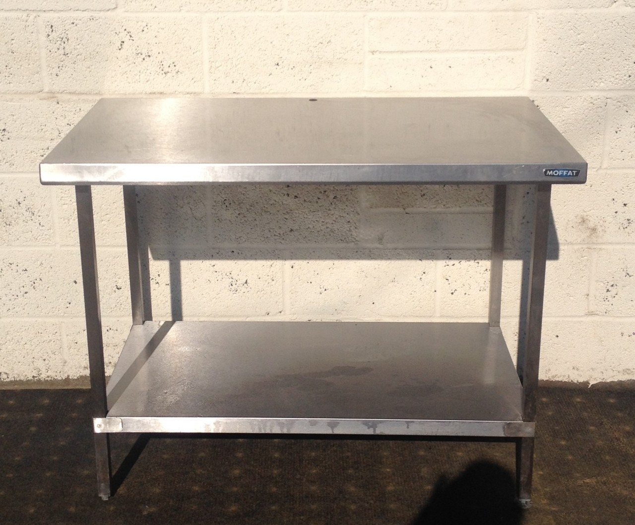 Moffat Stainless Centre Table with Undershelf