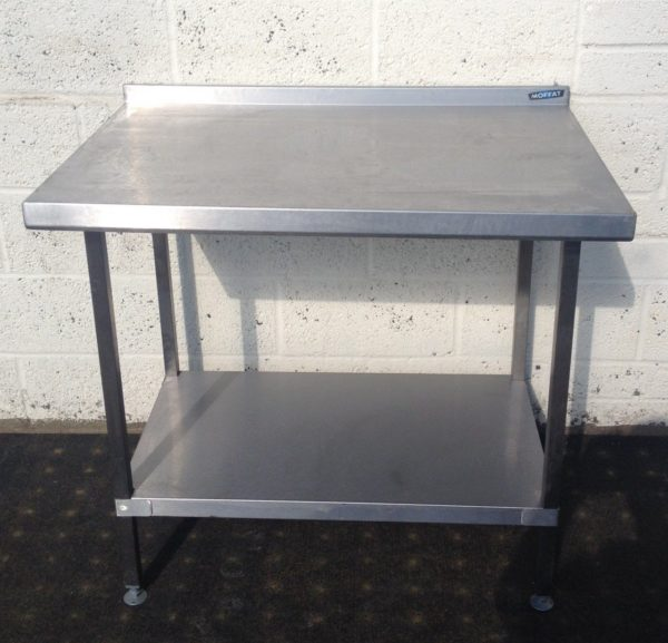 Moffat Table with Upstand and Undershelf 1