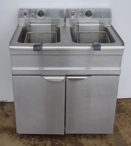 PARRY Twin Well 3-Phase Fryer