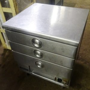 VICTOR 3 Drawer Warming Cabinet