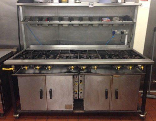SHAKTI  9 Burner  Gas Range with Ovens 1