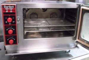 BARTLETT Harmony Table Top Single Phase 5 Grid Combi Oven