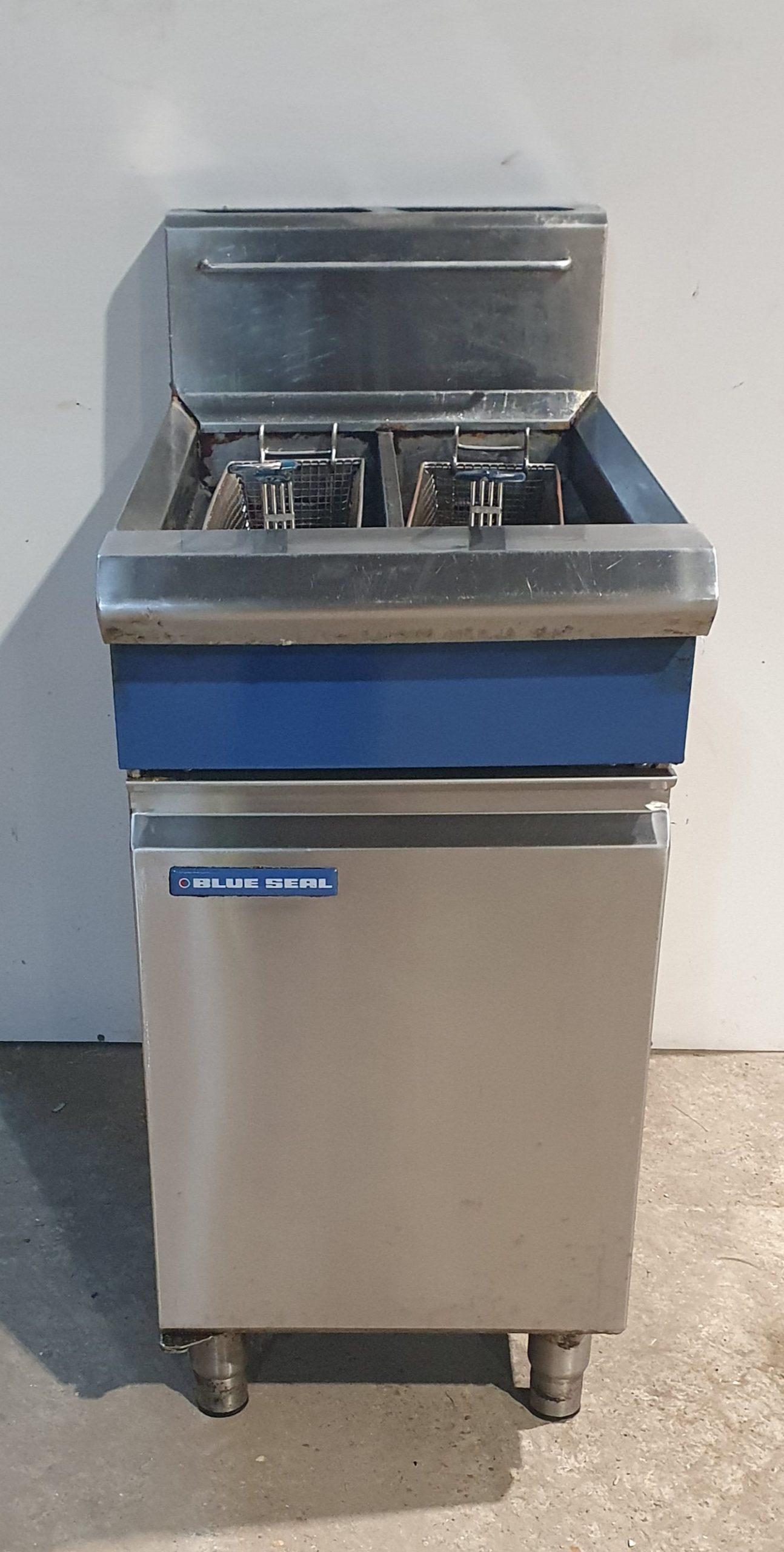 BLUE SEAL Single Well Twin Basket Electric Fryer
