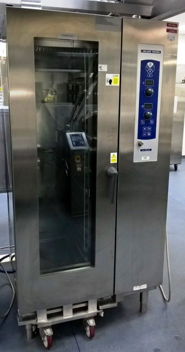 BLUE SEAL E21A C SB 20 Grid Gas Combi Oven 1