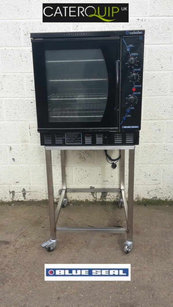 BLUE SEAL G32 Gas Convection Oven and Stand 1