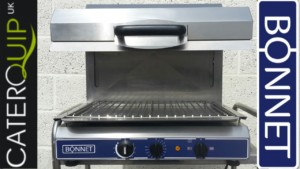 BONNET Electric Rising Salamander Grill