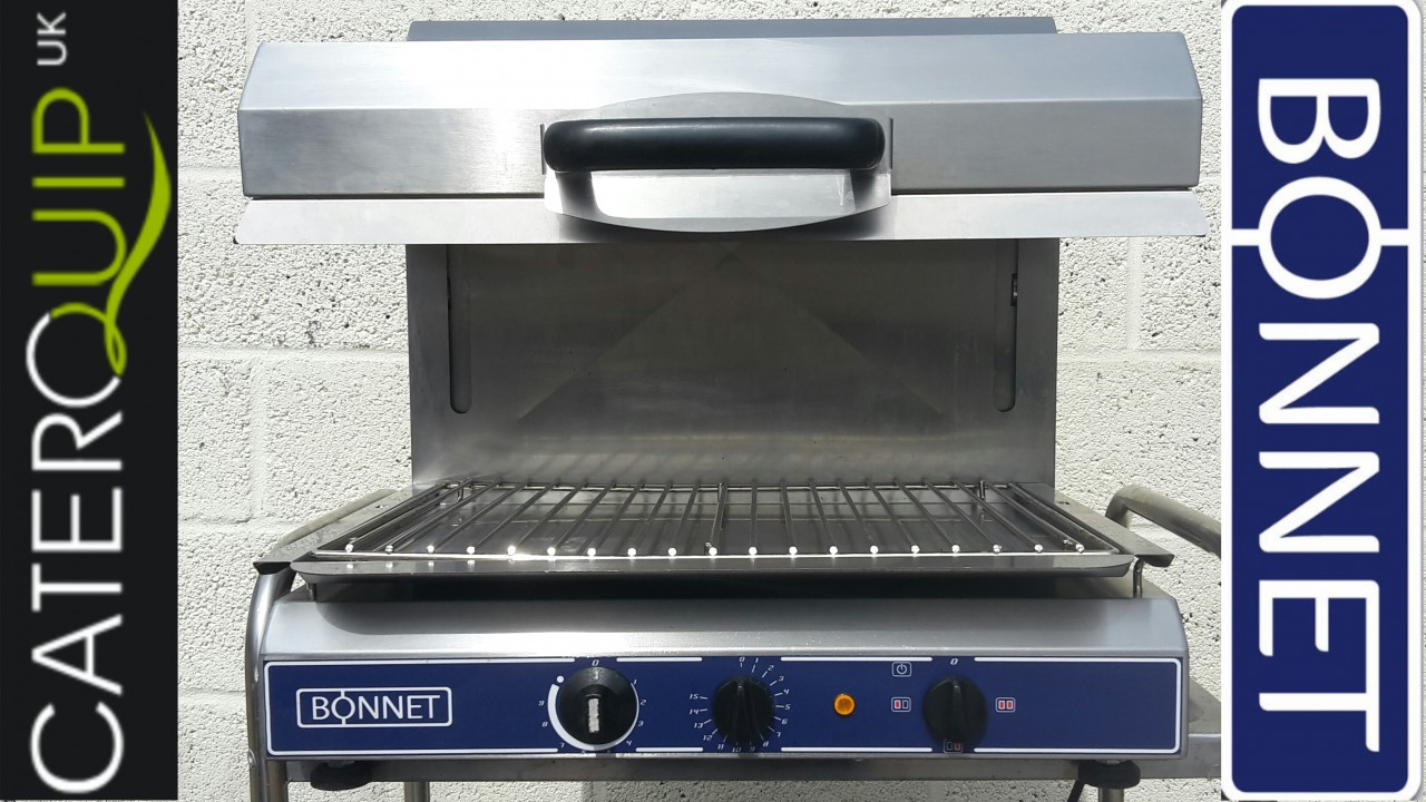 BONNET Electric Rising Salamander Grill