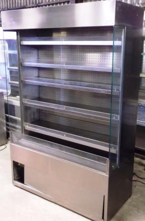 CARAVELL Chrome finish 5 Shelf Multideck Chilled Display