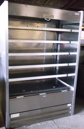 Caravell 5 Shelf Stainless Steel Chilled Multideck Display