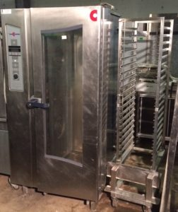 CONVOTHERM OEB Electric 20 Grid Combi Oven with Roll In Trolley