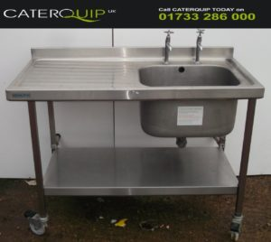 Single Bowl Left Hand Drainer Sink