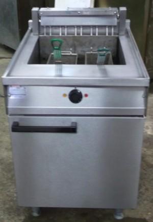 FALCON Dominator Electric Single Well Twin Basket Fryer