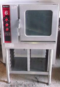 Bartlett Harmony 6 Grid 3 Phase Combi Oven