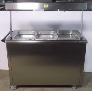 LINCAT Servery with Hot Cupboard