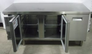 ELECTROLUX 3 Door Bench Fridge