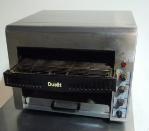 DUALIT DCT3 Conveyor Toaster  – CLEARANCE item – no warranty