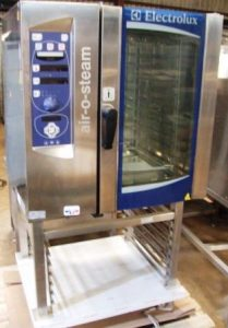 ELECTROLUX Air O Steam Electric 10 Grid Combi Oven with Floor Stand