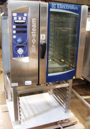 ELECTROLUX Air O Steam Electric 10 Grid Combi Oven with Floor Stand 1