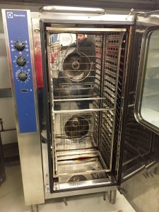 ELECTROLUX Crosswise Gas 20 Grid Convection Oven with Humidity