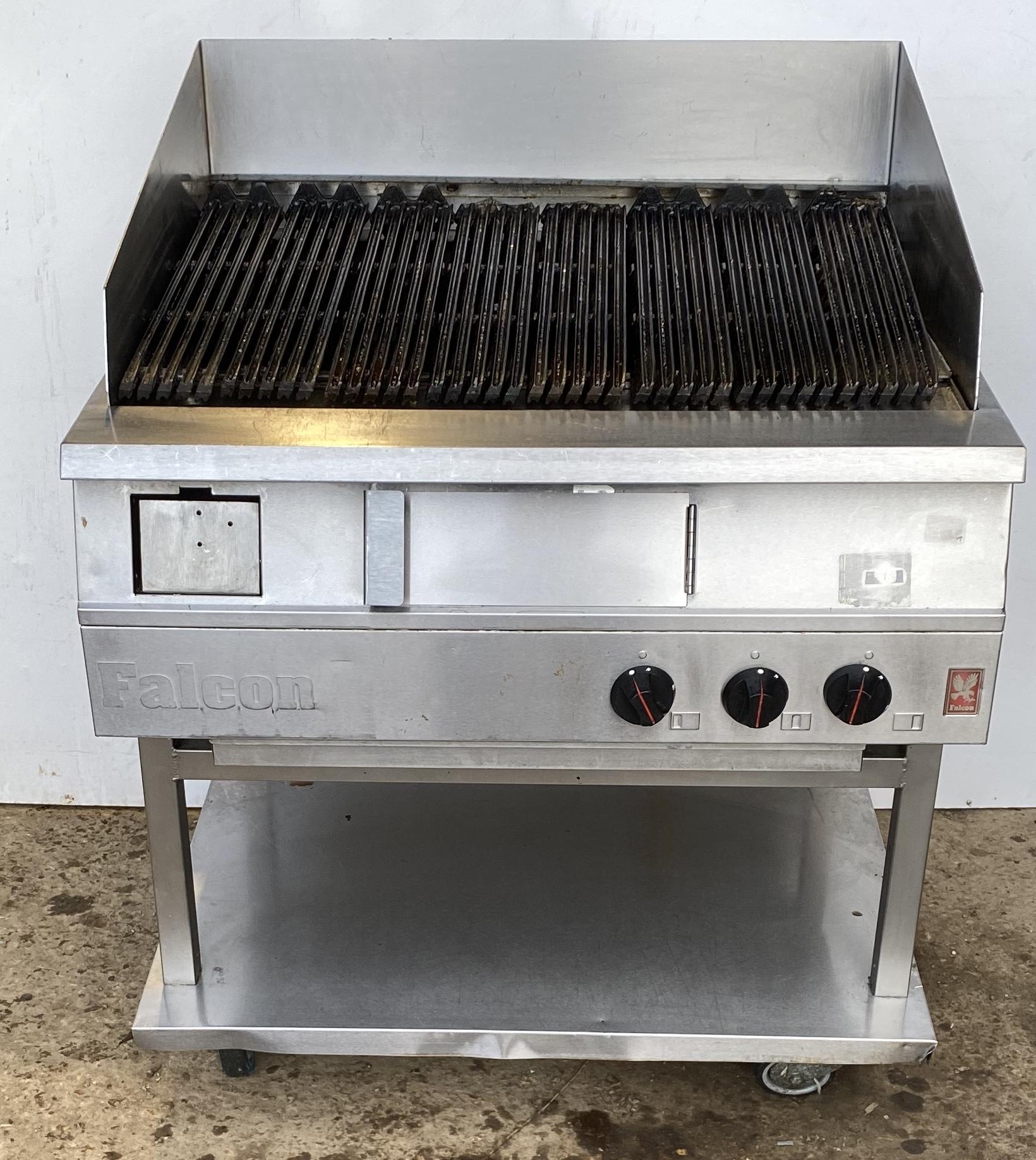 Falcon 3 burner char grill