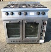 FALCON Domianor 6 Burner Range with Convection Oven