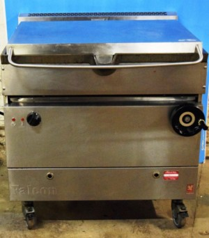 FALCON Dominator 35 Litre Electric Manual Tilt Bratt Pan – CLEARANCE ITEM