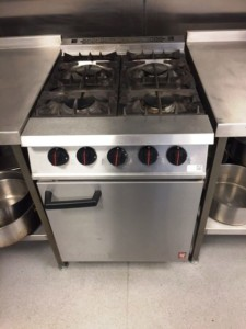 FALCON Dominator 4 Burner Gas Range