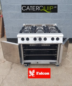 FALCON Dominator Gas Range with Double Oven