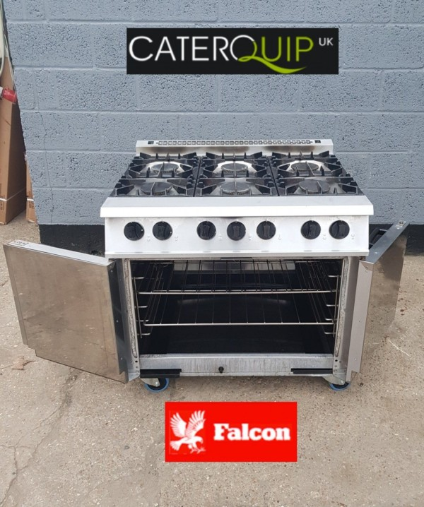 FALCON Dominator Gas Range with Double Oven 1
