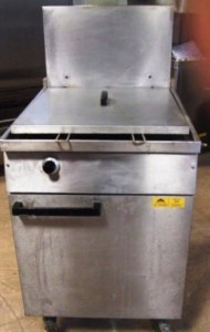 FALCON Chieftain Single Well Twin Basket Fryer