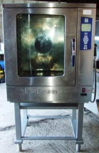 FALCON ECM Electric 10m Grid Combi Oven with Gastronorm Floor Stand