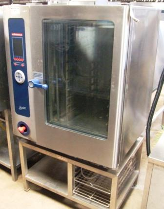 ELOMA Genius 10 Grid Electric Combi Oven with Floor Stand