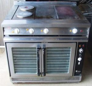 FALCON Dominator Electric Range with Speed Rings and Convection Oven