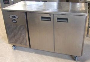 FOSTER 2 Door Bench Fridge