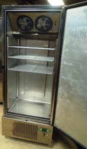 FOSTER Extra Wide Single Door Freezer