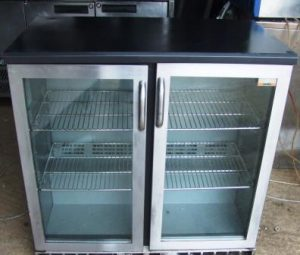 GAMCO 2 Door Chrome Fronted Bottle Chiller