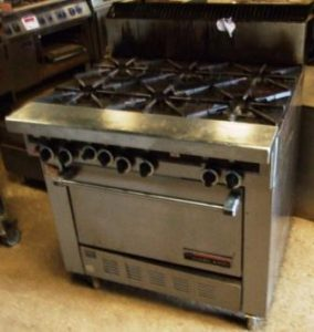 GARLAND Sentry 6 Burner Gas Range