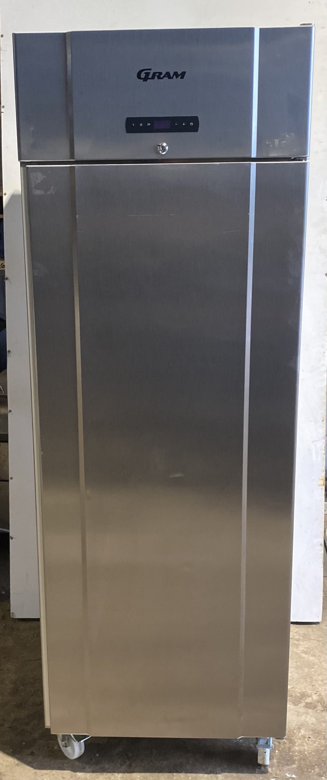 GRAM Single Door 600 Litre Upright Fridge
