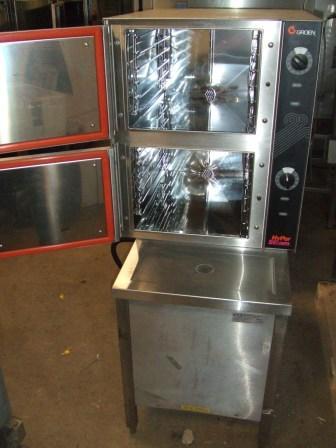 GROEN Hyper Steam Gas Twin Cabinet Steamer CLEARANCE ITEM