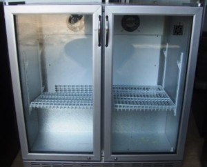 IMC Twin Door Back Bar Fridge