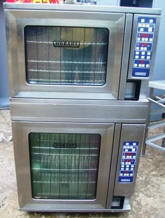 HOBART 6 and 10 Grid Electric Combi Ovens 1