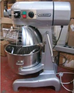 HOBART A200 20 Quart Bench Planetary Mixer with Guard