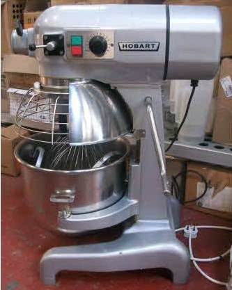 HOBART A200 20 Quart Bench Planetary Mixer with Guard 1