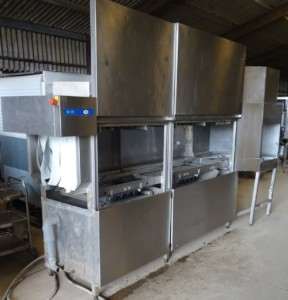 HOBART CN Series Conveyor Dish Washer with Dryer