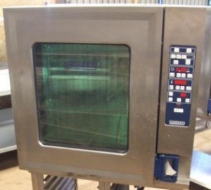 HOBART CSD Electric 10 Grid Combi Oven with Floor Stand