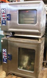 HOBART CSD UC Pass Through 6 and 10 Grid Electric Combi Ovens