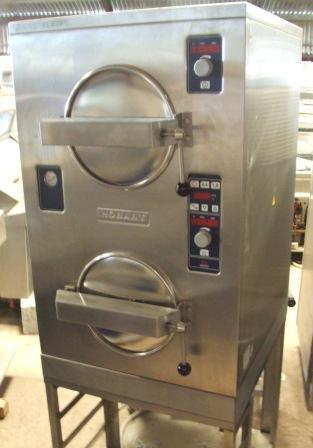 HOBART 2227 Twin High Pressure Steamers