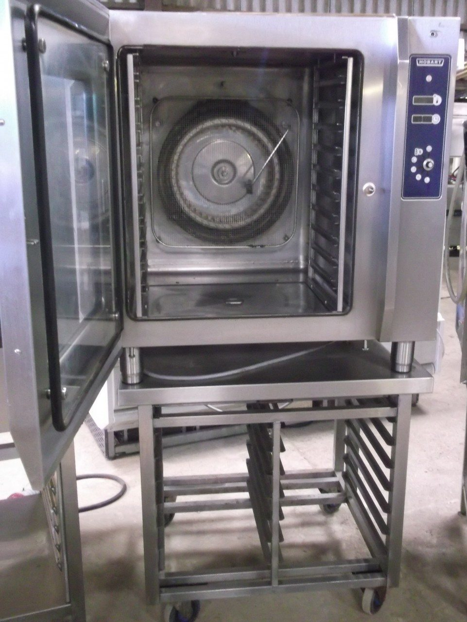 HOBART CSMH Electric 10 Grid Combi Oven